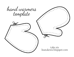 hand and mitten outline clipart clip art library