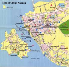 Detailed Map Of China by Xiamen China Travel Maps Printable Hi Res Tourist Map Of Xiamen