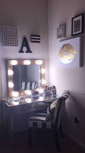 Vanity Set With Lights For Bedroom Diy Makeup Vanity Mirror With Trends Set Lights For