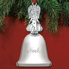2017 reed barton noel bell 38th silverplate ornament