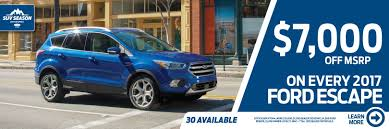 Ford Escape Msrp - stillwater bill knight ford of stillwater new u0026 used ford cars