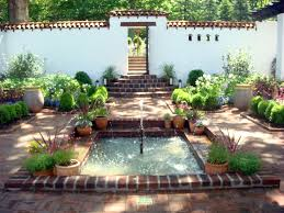 spanish courtyard at froh heim spanish courtyard spanish and