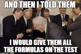 Business Meme Generator - when you study the wrong things for the test college
