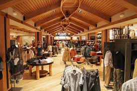 eddie bauer store decor love the canoes on the ceiling c metro
