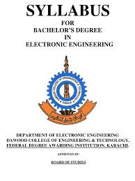 syllabus electronics engineering amplifier electronic engineering