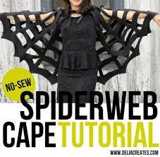 Spider Halloween Costume Sew Spider Cape Halloween Costume Project Homestead