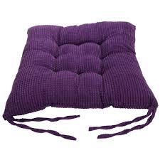 Purple Patio Cushions by Cushions Soft Cotton Seat Pad Chair Pads For Garden Dining Room