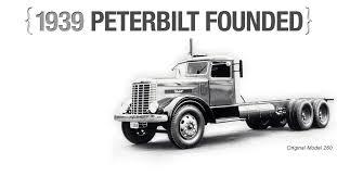 history peterbilt trucks peterbilt motors company
