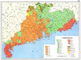 Orange Color by File Linguistic Map Of Guangdong Hong Kong And Macau In Orange