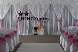 wedding backdrop prices cheap price white color wedding backdrop curtain with led lights in