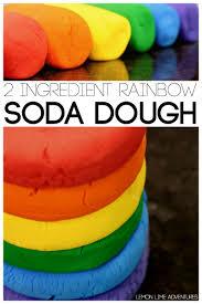 rainbow soda dough recipe clay crafts soda and rainbows