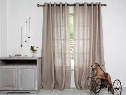 pair linen curtain panels curtains natural pair curtains linen