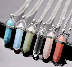 resin necklace wholesale images Wholesale bulk charms bullet women jewelry cheap opal jade natural jpg