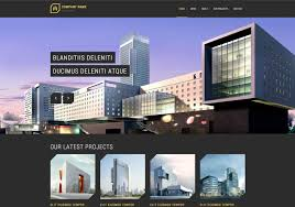 modern architecture free responsive website template