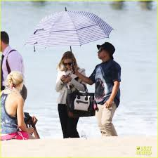 kristen bell u0027house of lies u0027 beach filming photo 2987982 don