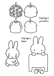 miffy coloring pages funycoloring