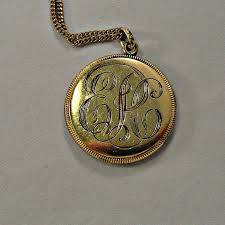 Monogram Locket Necklace 1309 Best Antique Jewelry Images On Pinterest Antique Jewelry