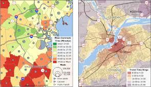 commute map commuting transportation map software