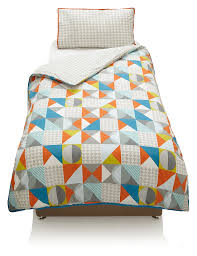 geometric print bedding set m u0026s