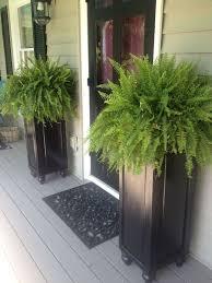 Cheap Patio Pots Best 25 Front Porch Planters Ideas On Pinterest Front Door
