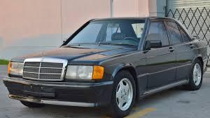 1986 mercedes benz 190e 2 3 19v 5 speed dogleg sold call 305 988