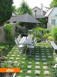 Apartment Backyard Ideas Before After Empty To Lush Backyard Backyard Studio Backyard