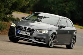 audi car a3 audi a3 best small hatch of the year only motors