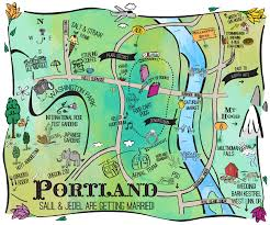 Downtown Portland Map by Places To Party U2013 Jedel And Salil U0027s Wedding