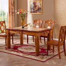 european dining room furniture solid wood furniture solid wood marble rectangular table dining