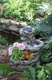 home decor luxury modern concrete backyard waterfall design