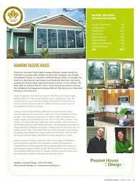 Housemagazine by Passive House E Design Featured In Eco House Magazine