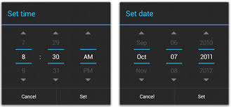 timepicker android change the text color of time picker android stack overflow