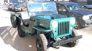 military jeep willys for sale 1953 willys jeep nut and bolt restoration for sale youtube