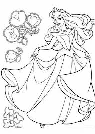 coloring pretty princess print outs disney coloring pages