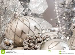 amazing ideas silver christmas decorations ivory and ornaments