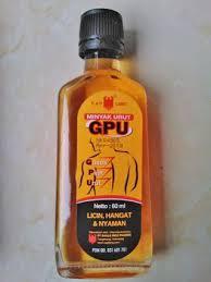 Minyak Gpu jual gpu minyak urut 60 ml di lapak alfadhiiel ochiied
