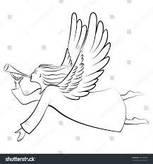 christmas angel outline cheminee website