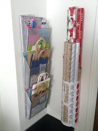ways to store wrapping paper ideas for storing wrapping paper rolls gift wrap organization even