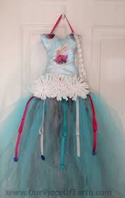 how to make your own hair bows diy elsa tutu bow holder our of earth