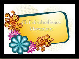Civil Disobedience Movement  authorSTREAM authorSTREAM