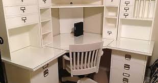 magnificent white corner desk with hutch kids white desk with