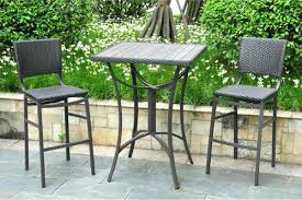 Outdoor Bistro Table Bar Height Bar Height Bistro Set Outdoor Bar Height Bistro Table