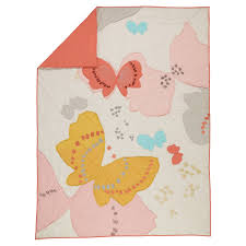 Land Of Nod Girls Bedding by Twin Fly Away Quilt The Land Of Nod