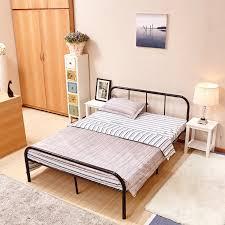 Metal Headboard Bed Frame Full Size Metal Headboard Metal Bed Frame 10 Legs Mattress