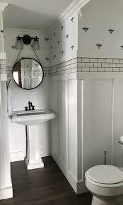 Black Bathroom Fixtures Mayflower Cottage Black And White Bathroom Ally