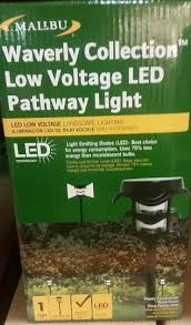 Low Voltage Led Landscape Light Bulbs by Amazon Com Malibu Waverly Collection Low Voltage Led Pathway