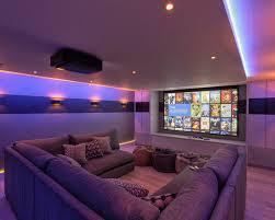 Home Theater Design Home Design Ideas - Living room home theater design