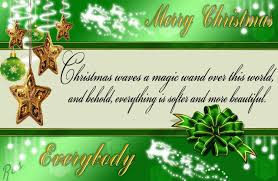advance merry card wishes sayings pictures everyone in