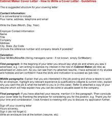 resume cover letter creator
