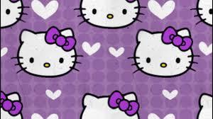 wallpaper hello kitty violet hello kitty wallpaper purple youtube